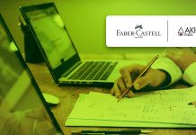 Aakhya and Faber Castell