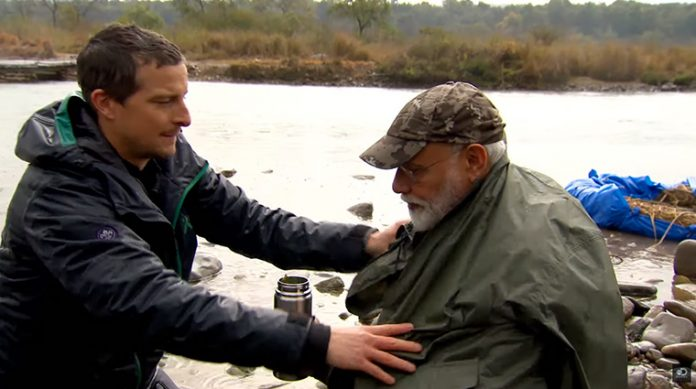 PM Narendra Modi to feature in Discovery's franchise 'Man Vs Wild' with Bear Grylls