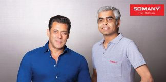 OMANY CERAMICS ANNOUNCES SALMAN KHAN AS BRAND'S FACE