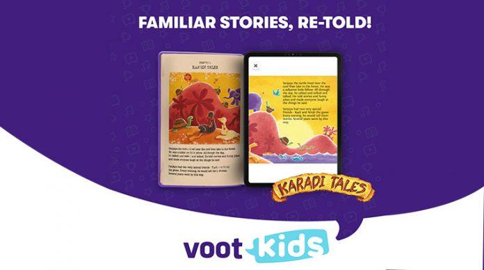 VOOT Kids partners with Karadi Tales