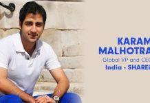 Karam Malhotra- CEO Shareit