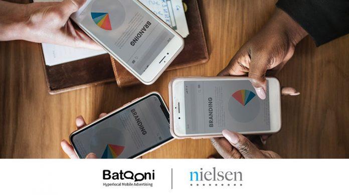 Batooni Mobile Advertising integrates Nielsen Digital Ad Ratings