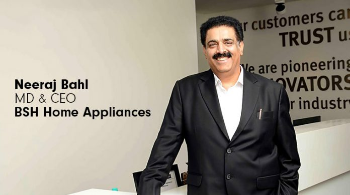 Neeraj Bahl as New India Managing Director and CEO