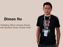 Dimon Hu CMO Huawei India