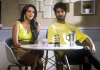 Shahid and Kiara on Ishq Double Shots