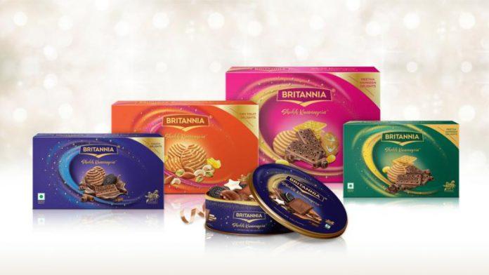 Britannia Shubh Kamnayein Packaging