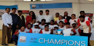 Sony Pictures Networks CABM Cricket Tournament Winners - Men
