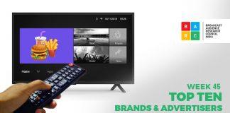 BARC Top Brands & Advertising Week 45