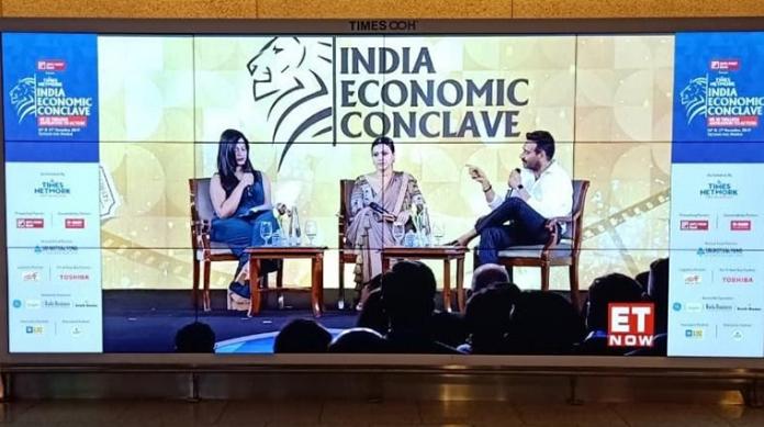 Times OOH livestreams India Economic Conclave for ET Now