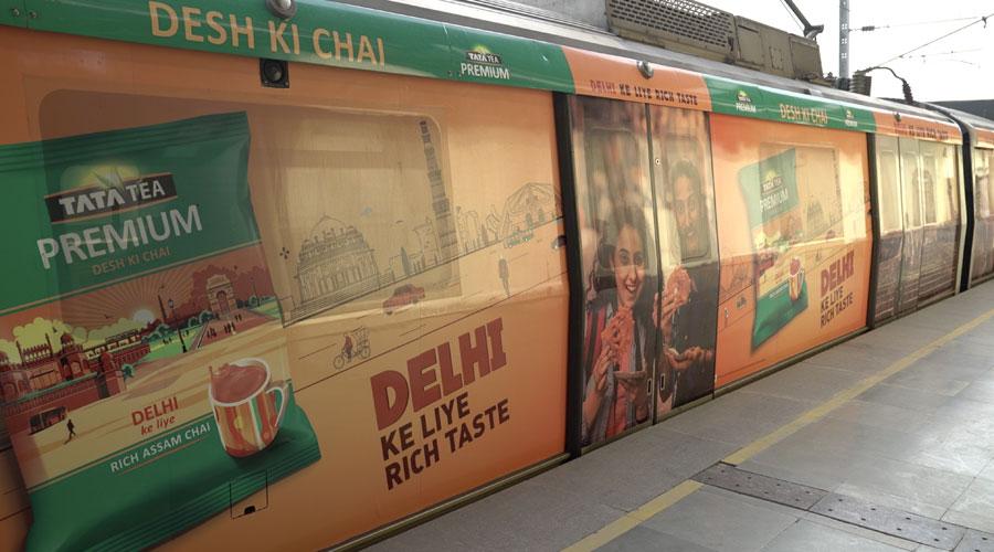 Tata Tea Premium Delhi Metro
