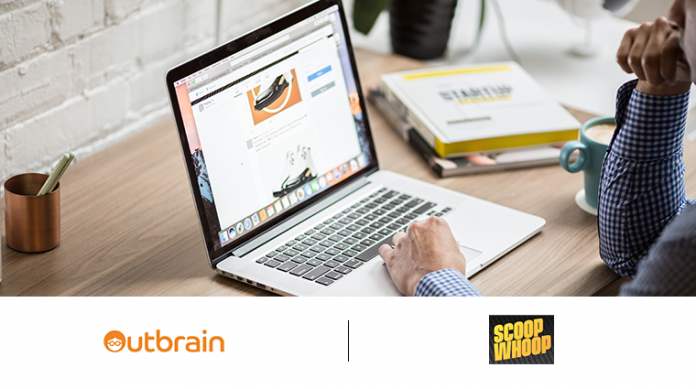 Outbrain and ScoopWhoop
