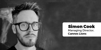 Simon Cook Managing Director Cannes Lions