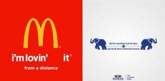 Brand Logos Social Distancing
