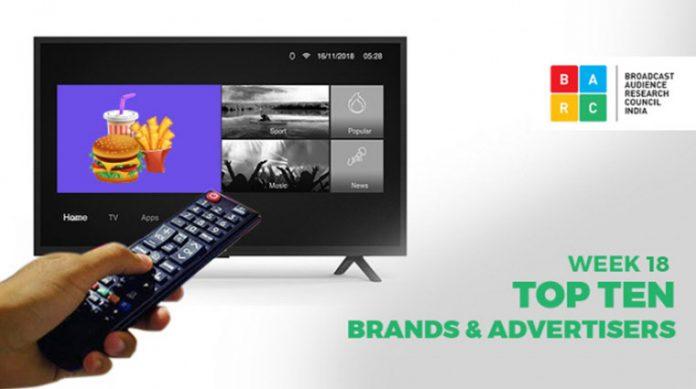BARC Week 18 Brands