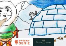 Faber Castell and Swiggy Genie