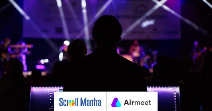 Scroll Mantra & Airmeet