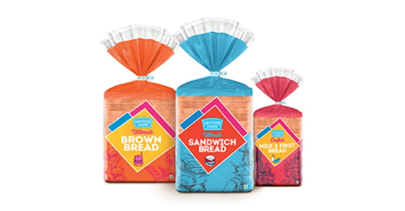 Mother Dairy breads