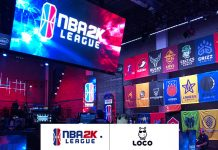 NBA 2K league games & loco