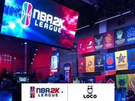 NBA 2K league games & loco