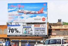 AirAsia India OOH campaign