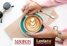 Madison Public Relations & Levista coffee