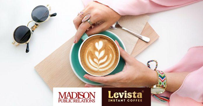 Madison Public Relations & Levista coffee