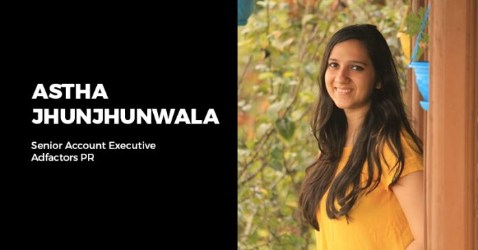 Astha Jhunjhunwala - PR learnings