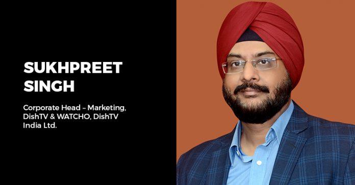 Sukhpreet Singh, DishTV