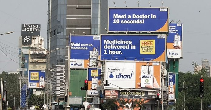 Dhara Healthcare OOH campaign by Ignite Mudra
