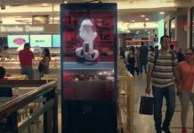Global Christmas OOH adverts