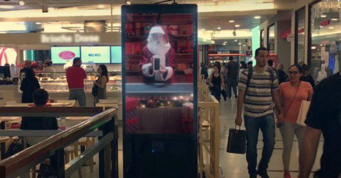 Global Christmas OOH adverts