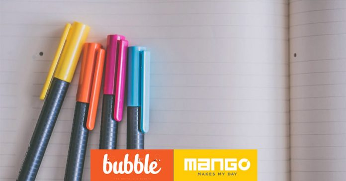Mango Stationery and Bubble Communication