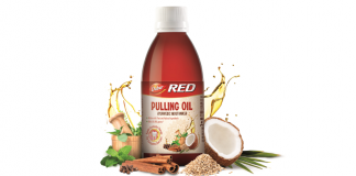Dabur India- Pulling Oil ayurvedic mouthwash