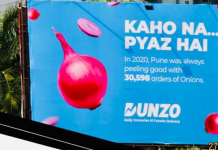 Dunzo OOH campaign