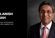 Anish Shah Mahindra Logistics Ltd